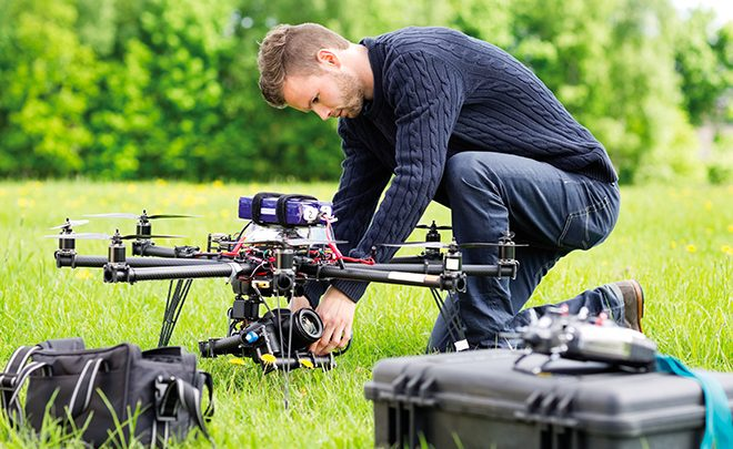 Features to emphasize on when choosing a drone company
